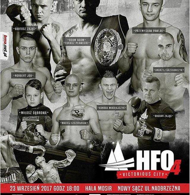 Oficjalny plakat HFO 4, Nowy Sącz 23.09.2017