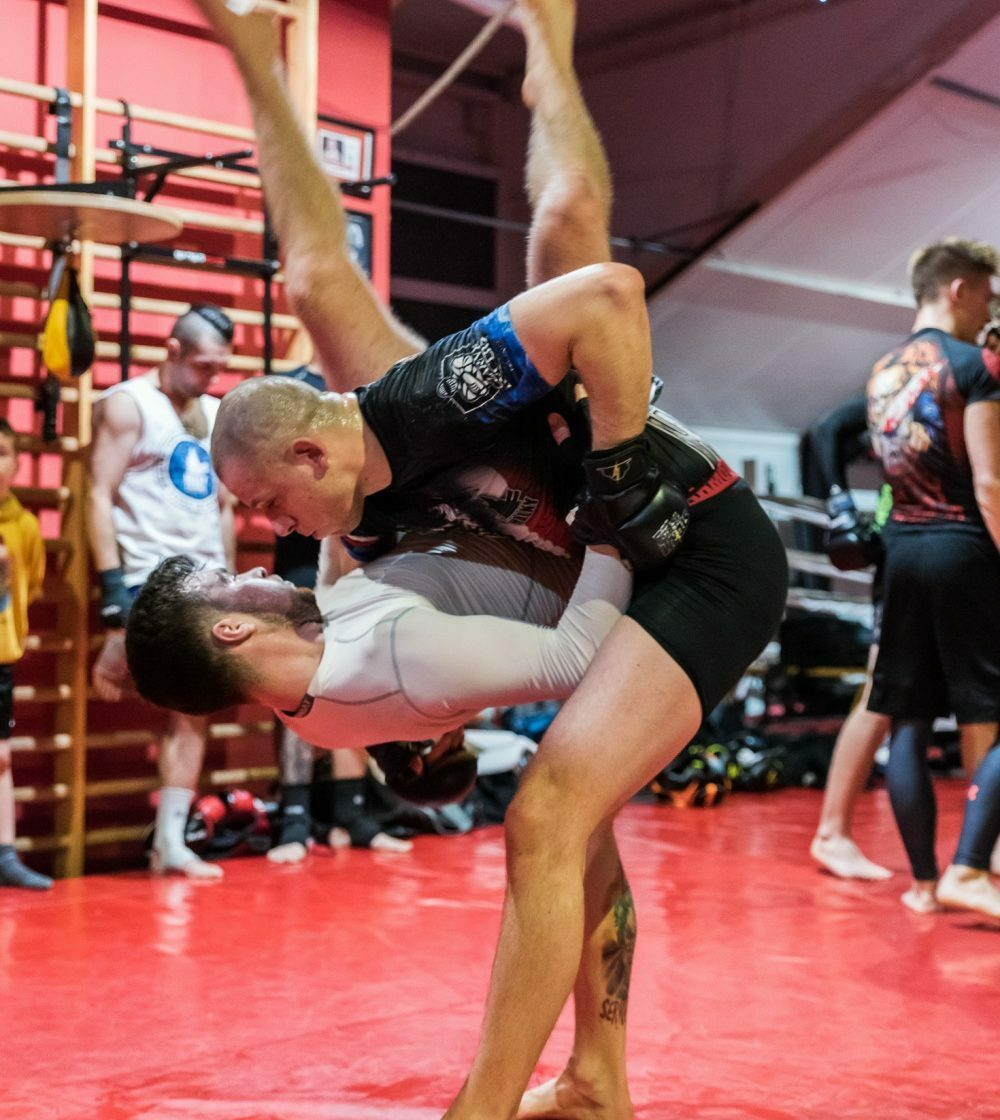 Trening MMA w HALNYm 10.01.2018